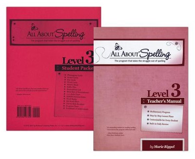 All About Spelling Level 3 (Teacher's Manual & Student Packet)  -     By: Marie Rippel