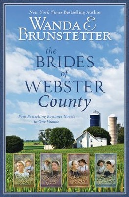 The Brides of Webster County: 4-in-1 - eBook  -     By: Wanda E. Brunstetter