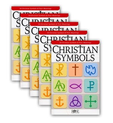 Christian Symbols, Pamphlet - 5 Pack   -