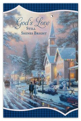 Thomas Kinkade God's Love Christmas Cards, Box of 18  -     By: Thomas Kinkade