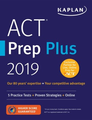 ACT Prep Plus 2019  -