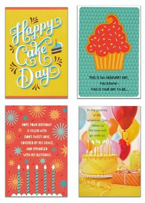Birthday, Images Cards, Box of 12  -