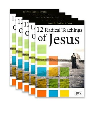 12 Radical Teachings Of Jesus 5-pack  -