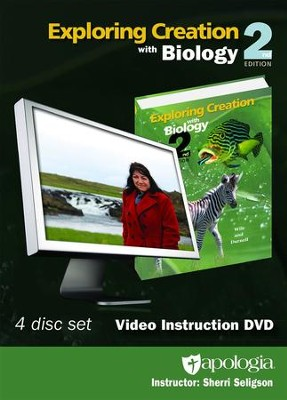 Exploring Creation with Biology 2nd Edition Video  Instruction DVD   -     By: Sherri Seligson