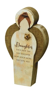 Daughter, Blessing Angel Plaque  -
