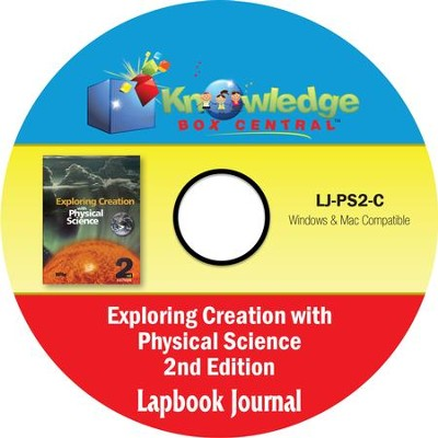 Apologia Exploring Creation With Physical Science 2nd Edition Lapbook Journal PDF CD-ROM   -