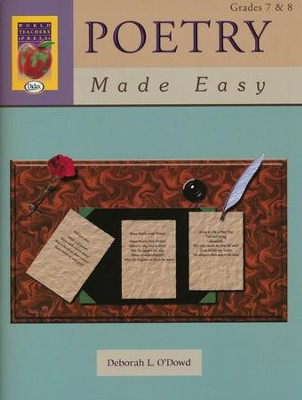 Poetry Made Easy Grades 7 & 8    -     By: Deborah O'Dowd