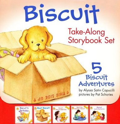Biscuit Take-Along Storybook Set  -