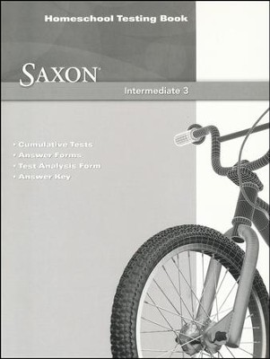 Saxon math intermediate 3 homeschool testing book stephen hake saxon math intermediate 3 homeschool testing book by stephen hake fandeluxe Gallery
