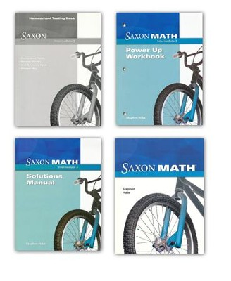 Saxon Math Intermediate 3 Complete Homeschool Kit   -     By: Stephen Hake