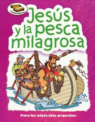 Jesús y la Pesca Milagrosa  (Jesus and the Miraculous Catch)  -     By: Cecilia Fernandez
