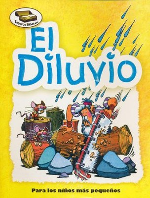 Tesoros Bíblicos: El Diluvio  (Bible Treasures: The Great Flood)  -     By: Fernandez     Illustrated By: Dennis Jones