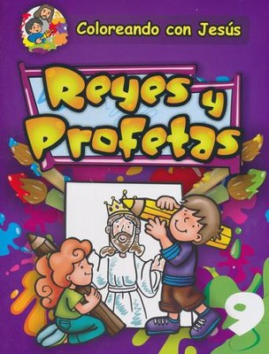 Coloreando con Jesús: Reyes y Profetas  (Coloring with Jesus: Kings and Prophets)  -     By: Maria Ester H. de Sturtz