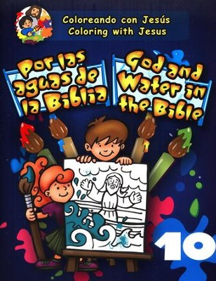 Por las Aguas de la Biblia, Bilingue  (God and Water in the Bible, Bilingual)  -     By: Maria Ester H. de Sturtz