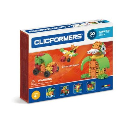 Clicformers Basic, 50 Piece Set  -