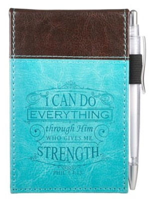 I Can Do Everything, Notebook and Pen  -