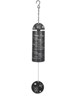 Serenity Prayer, Cylinder Wind Chimes  -