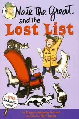 Nate the Great and the Lost List  -     By: Marjorie Weinman Sharmat