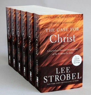 The Case for Christ, Pack of 6   -     By: Lee Strobel