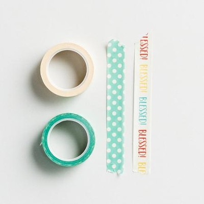 Blessed, Washi Tape, 2 Pack  -
