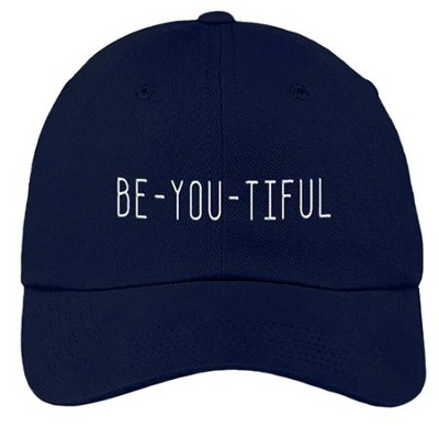 BeYouTiful Cap, Navy  -