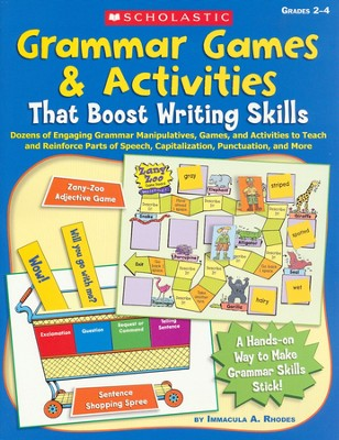 Grammar Games & Activities That Boost Writing Skills  -     By: Immacula Rhodes
