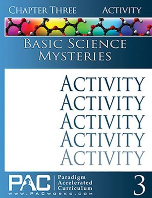 Basic Science Mysteries Activities Booklet, Chapter 3   -