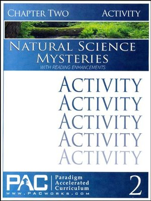 Natural Science Mysteries Activities Booklet, Chapter 2   -