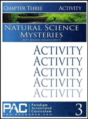 Natural Science Mysteries Activities Booklet, Chapter 3   -