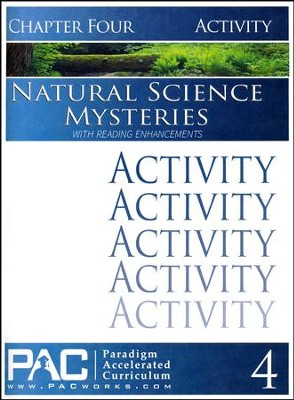 Natural Science Mysteries Activities Booklet, Chapter 4   -