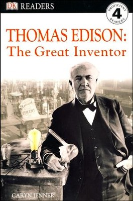 DK Readers Level 4: Thomas Edison  -