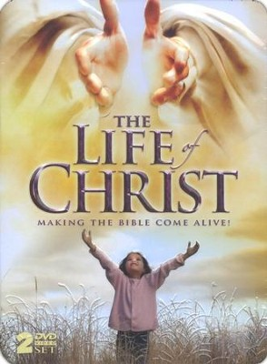 The Life of Christ: Making the Bible Come Alive! 2-DVD Tin Set   -