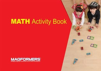 Magformers, Math Activity Book  -