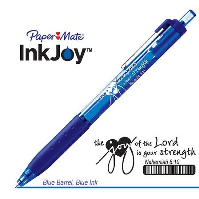 Behold the Joy of His Way Pen, Blue  -