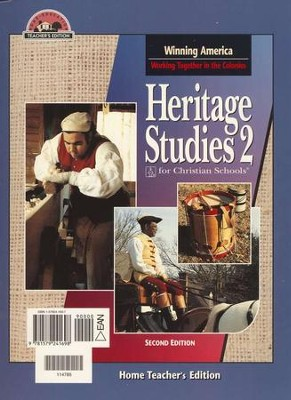 BJU Heritage Studies Grade 2, Home Teacher's Edition    -