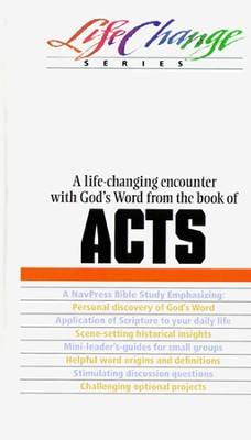 Acts, LifeChange Bible Study - eBook   -