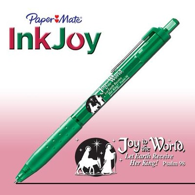 Joy to the World Pen, Green  -