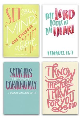Birthday Cards, Bible Letters, Box of 12  -