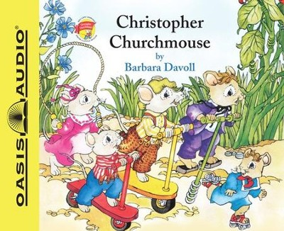 Christopher Churchmouse            - Audiobook on CD  -     Narrated By: Susan Butcher     By: Barbara Davoll