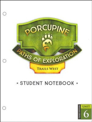 Paths of Exploration 4th Grade: Trails West Unit Student Notebook Pages (3rd Edition)  -