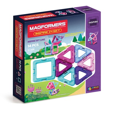 Magformers Inspire 14 Piece Set   -