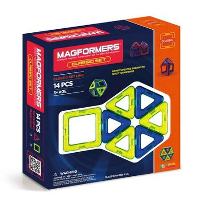 Magformers Classic, 14 Piece Set  -