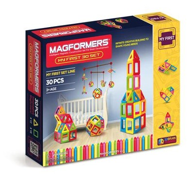 Magformers, My First Set, 30 pieces  -