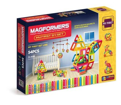 Magformers, My First Set, 54 pieces  -