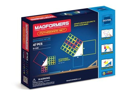 Magformers, Pythagoras Set, 47 pieces  -