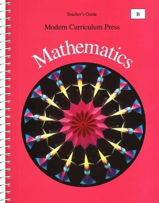 Modern Curriculum Press Math Teacher's Guide, Level B, Grade 2   -