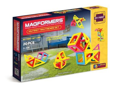 Magformers, Tiny Friends Set, 20 pieces  -