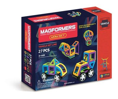 Magformers WOW Set, 27 Pieces  -