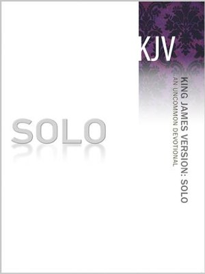 SOLO KJV: An Uncommon Devotional - eBook  -     By: The Navigators