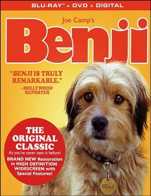 Benji, Blu-ray/DVD/Digital Edition    -